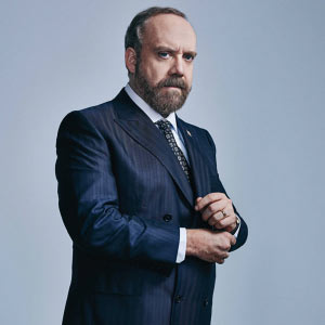 Paul Giamatti looking like a Billion bucks in his Greenfield suit.