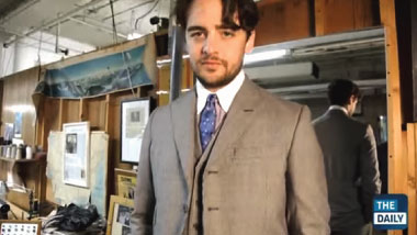 Master Tailor Martin Greenfield, featuring HBO's Boardwalk Empire