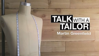 Martin Greenfield - Talk with a Tailor